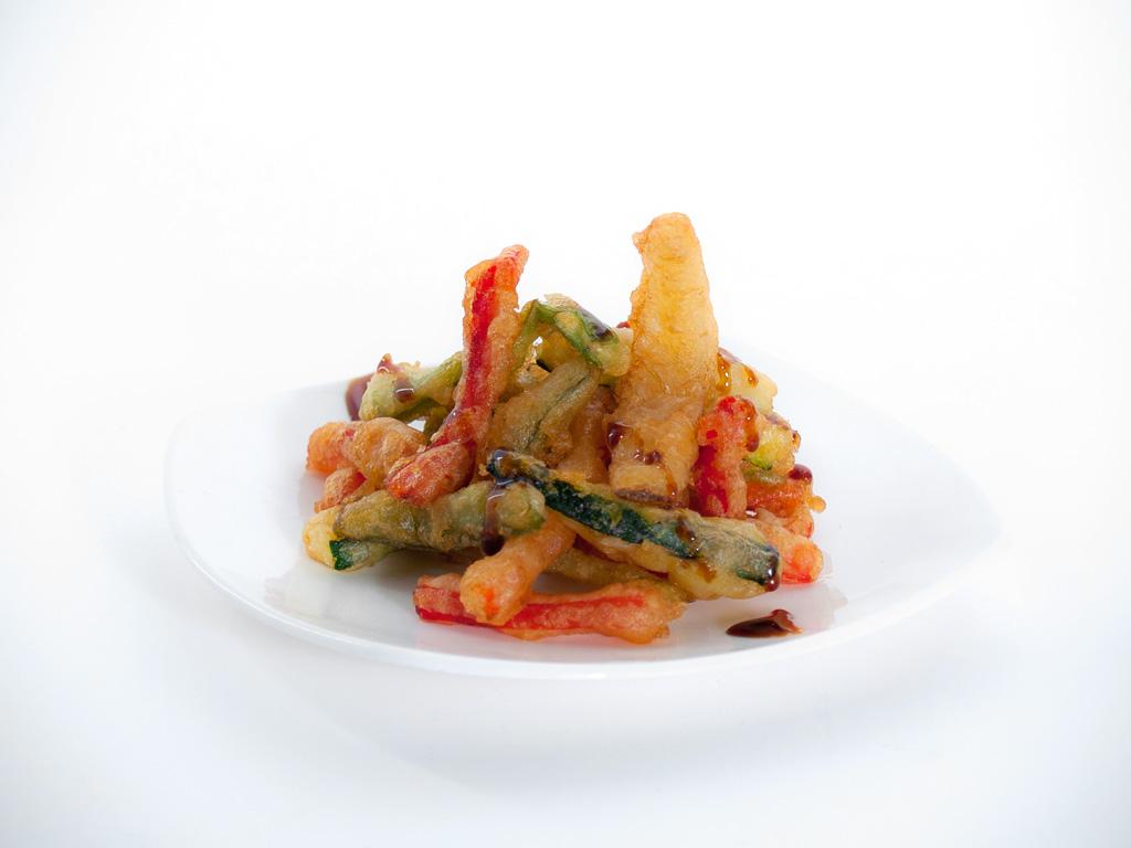 Verduricas en tempura